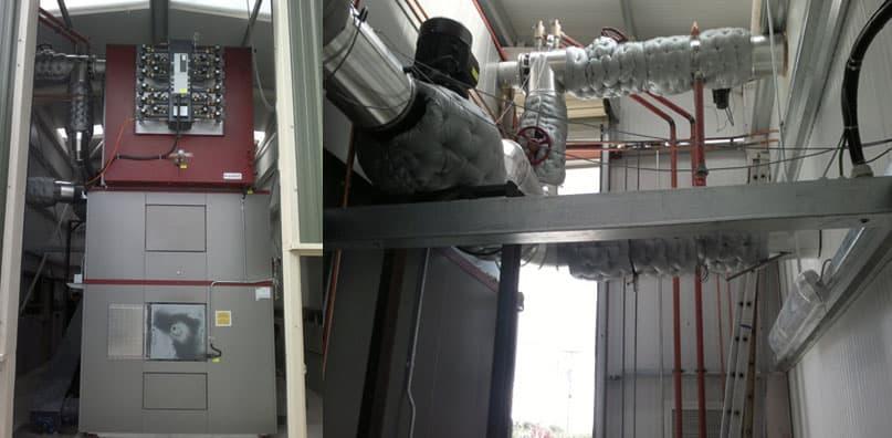 2mw Woodchip Biomass Boiler Installation