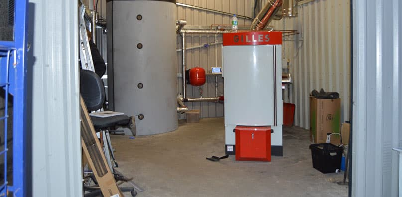 Enerpower Supplied, Installed And Commissioned A 160kwh Biomass Boiler For Tesco In Wicklow.