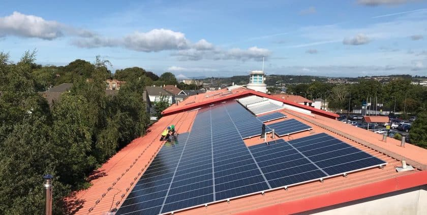 Ardkeen Quality Food Store is going green with Solar Pv Array