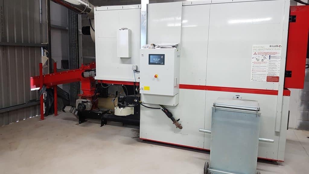 Biomass Wood Boiler - HPKI-K550